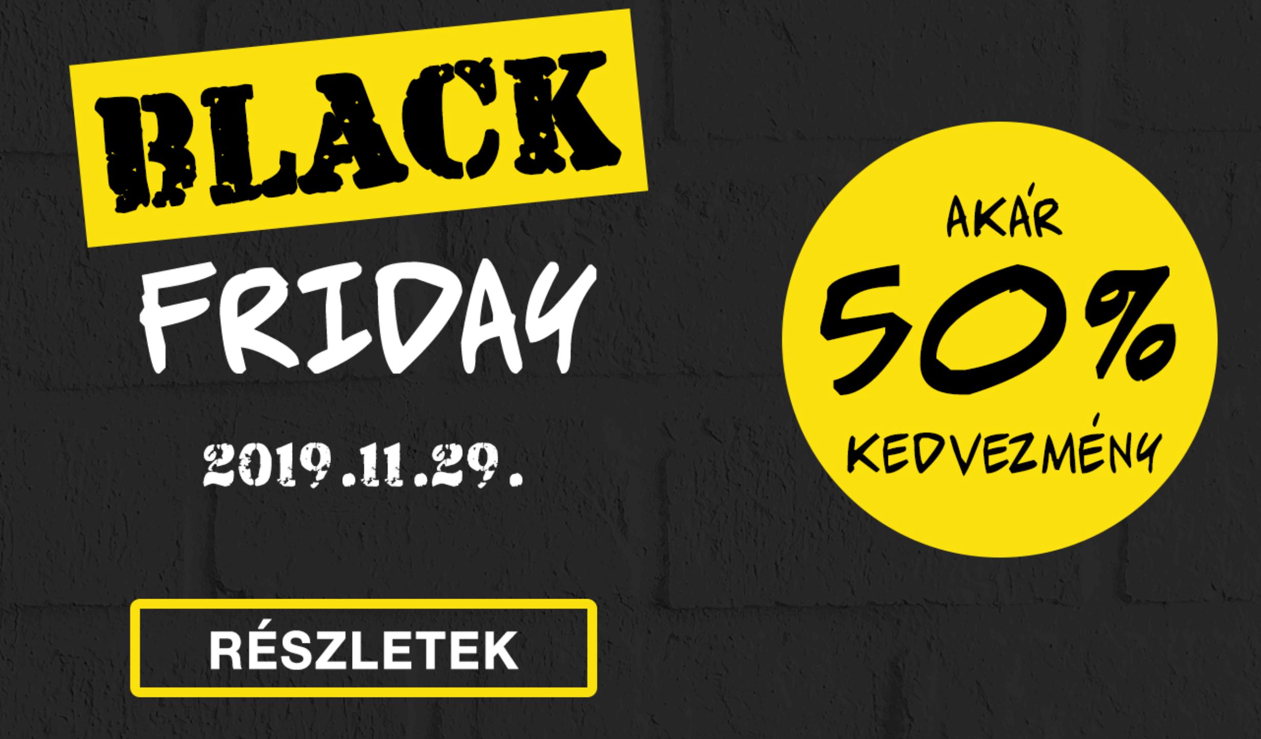 Black Friday 2019 -  Fekete Pénteki Akciók a Styleboltban