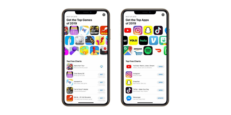 2019 legtöbbet letöltött iPhone és iPad játékai