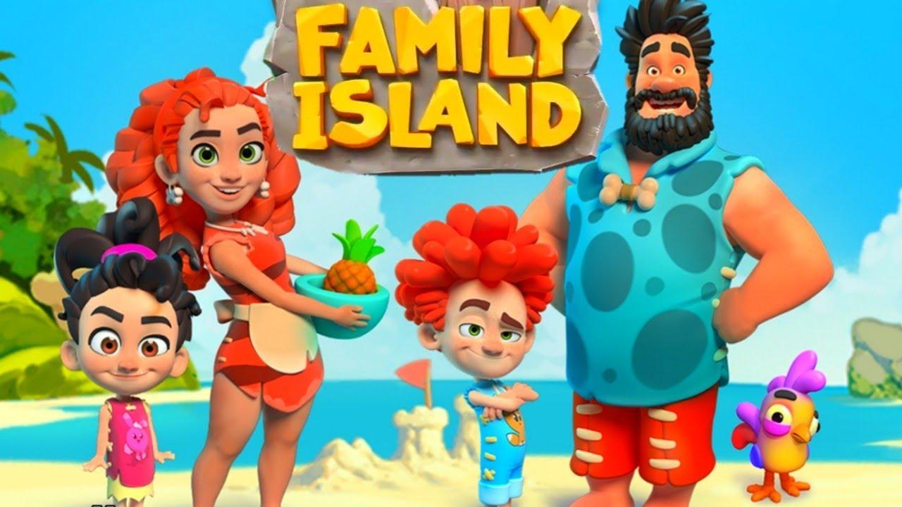 Family Island ・Tesztlabor