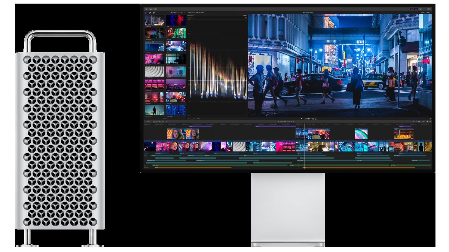 A Mac Pro és Pro Display XDR egyedi hűtési rendszere