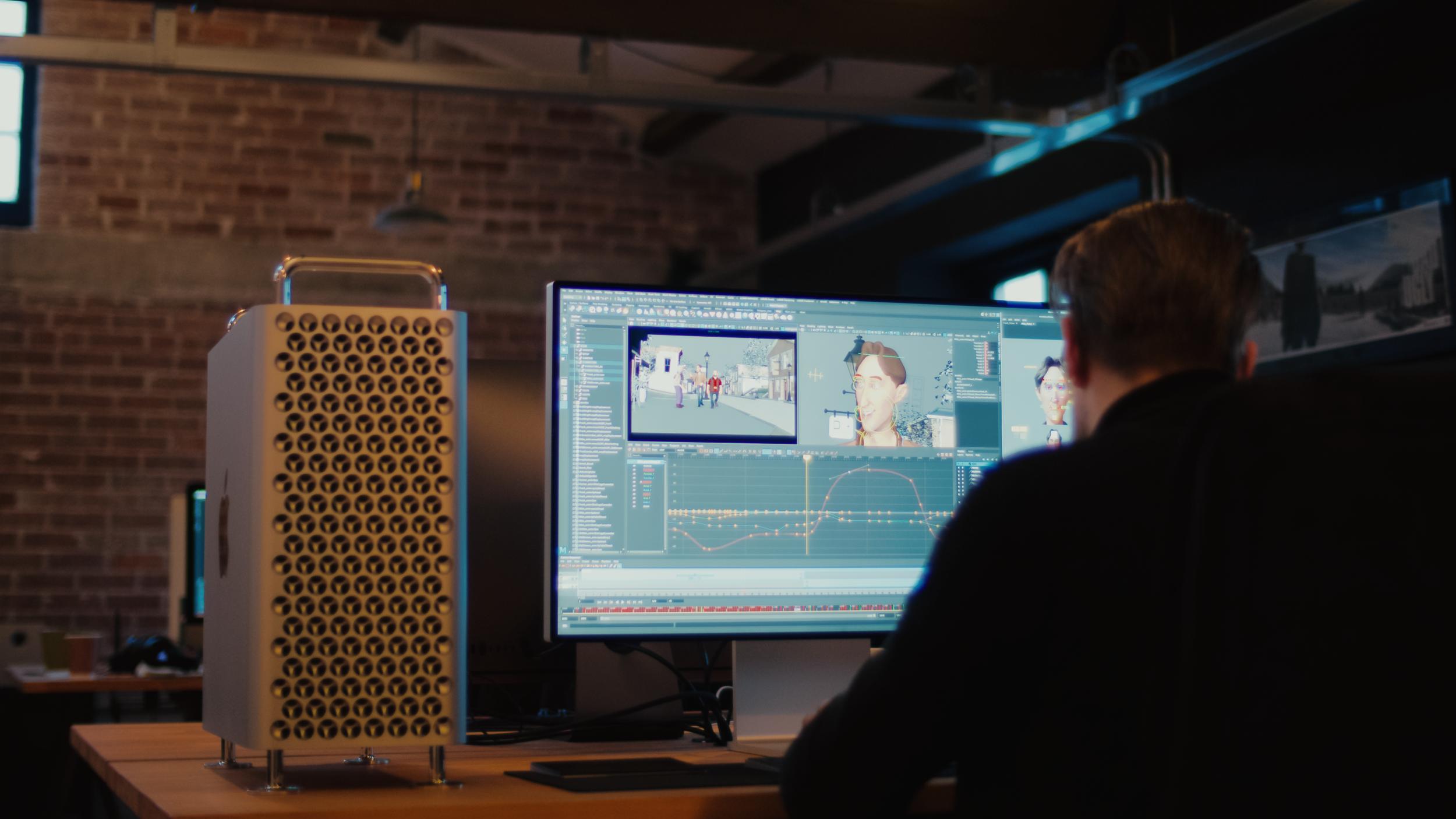 Az új Mac Pro is segített az új Jumanji film létrejöttében
