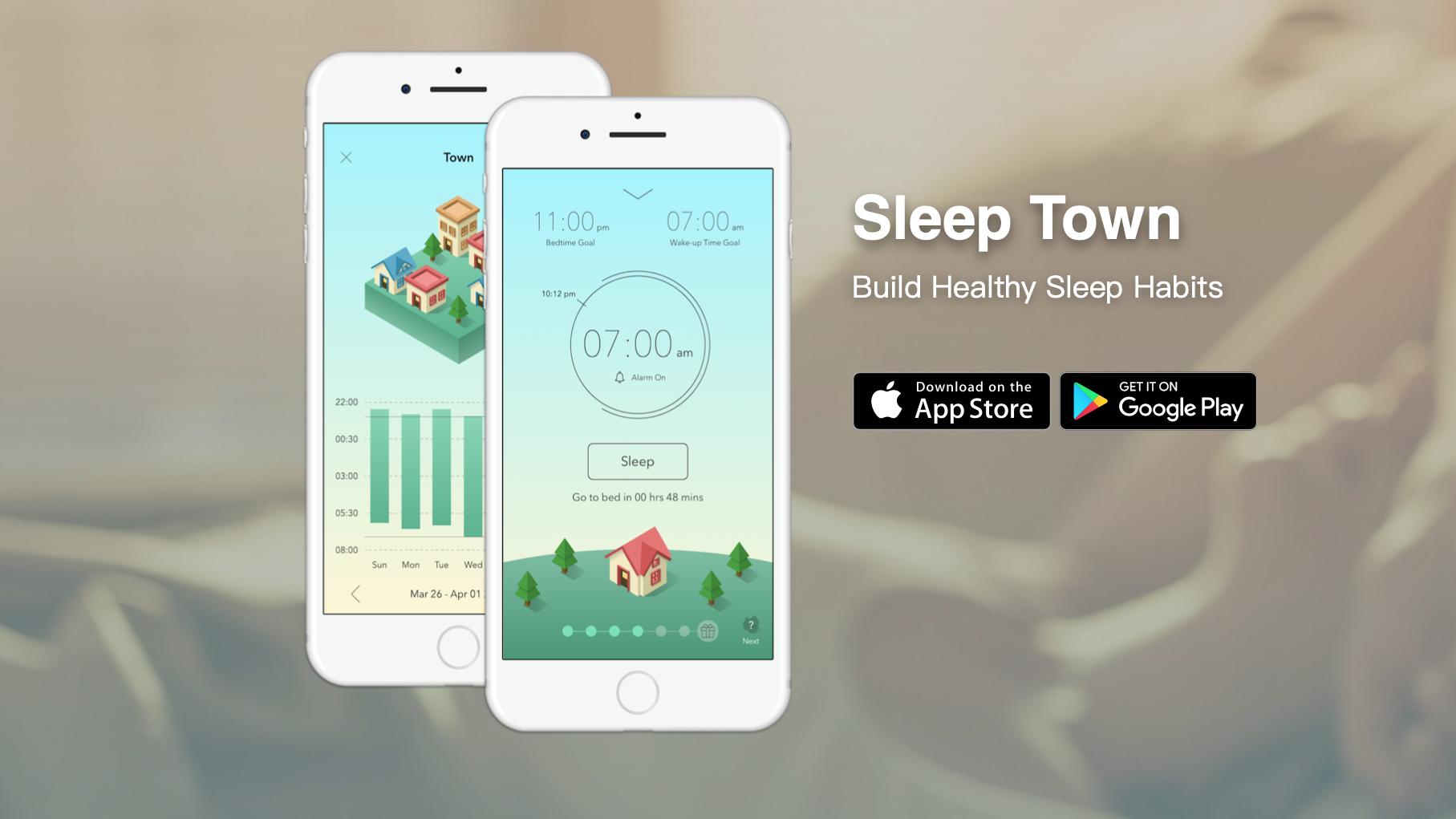 SleepTown: egy alvássegítő alkalmazás telefonfüggőknek