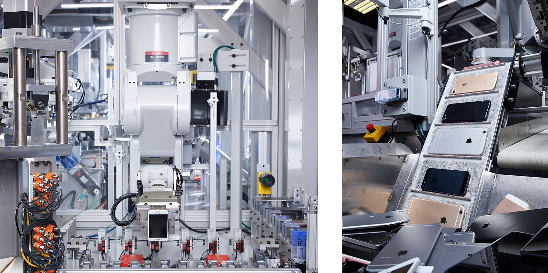 Jól halad Daisy, az Apple újrahasznosító robotja