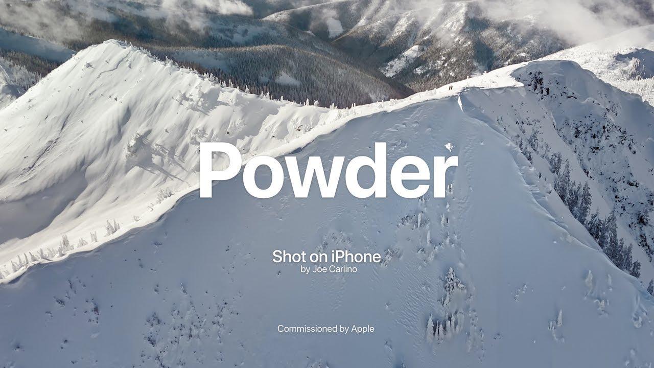 Powder: egy újabb reklámvideó az Apple-től