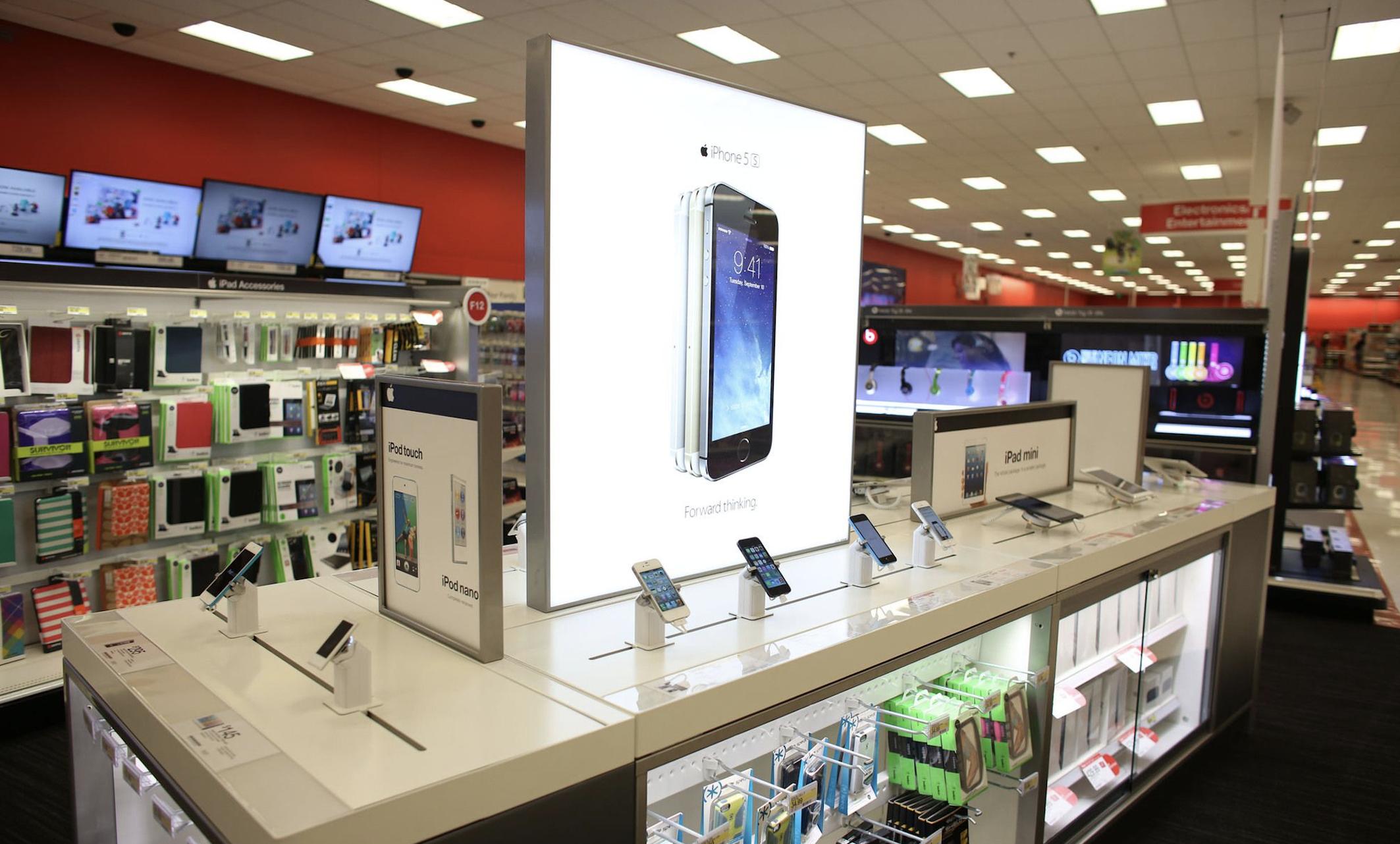 X Generációs Apple termékeke tűntek fel a Target áruház adatbázisában