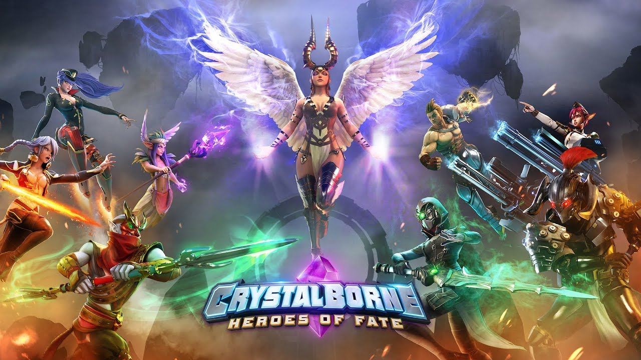 Crystalborne: Heroes of Fate・Tesztlabor