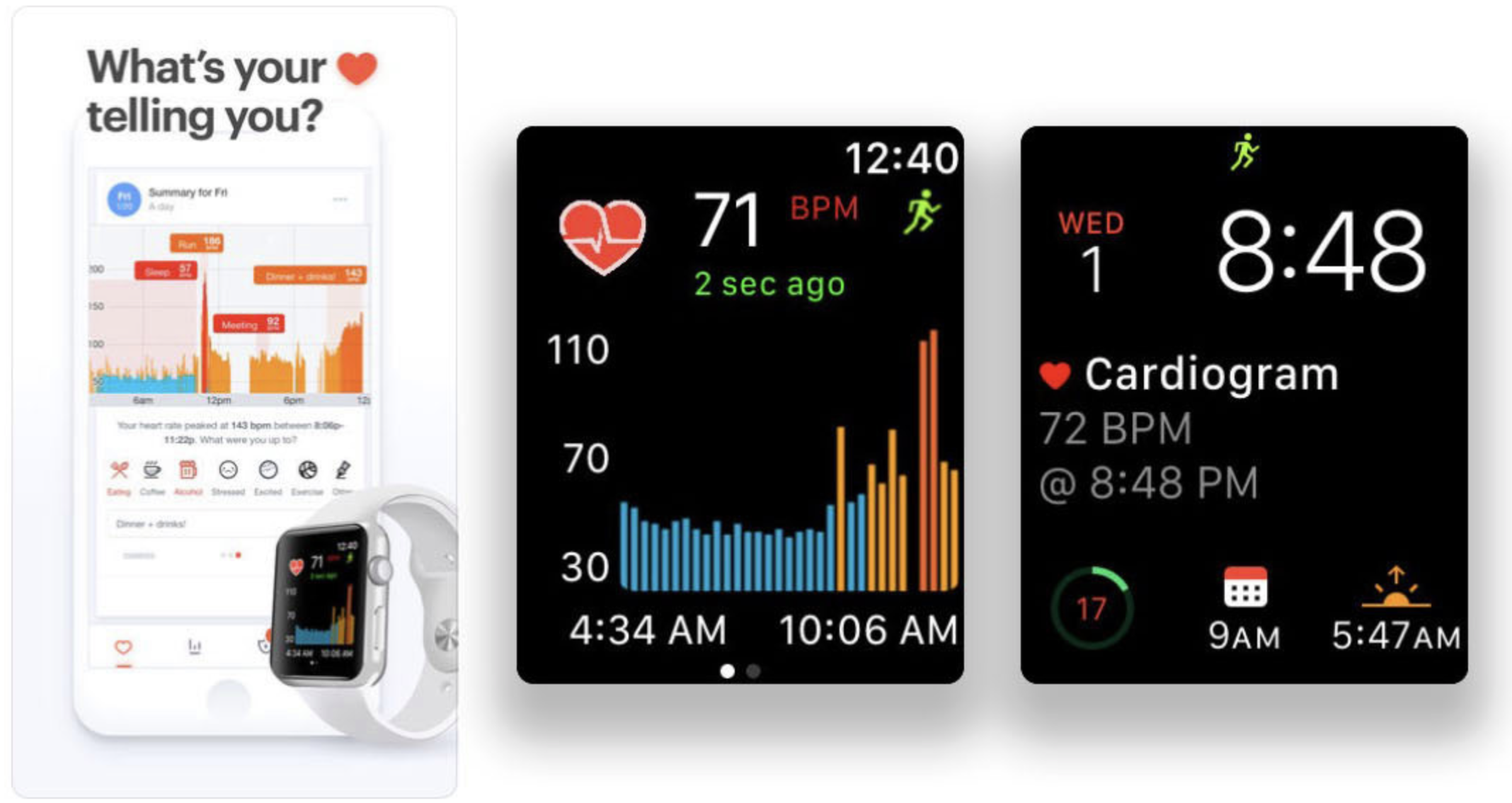 Cardiogram: Heart Rate Monitor - Watchlabor