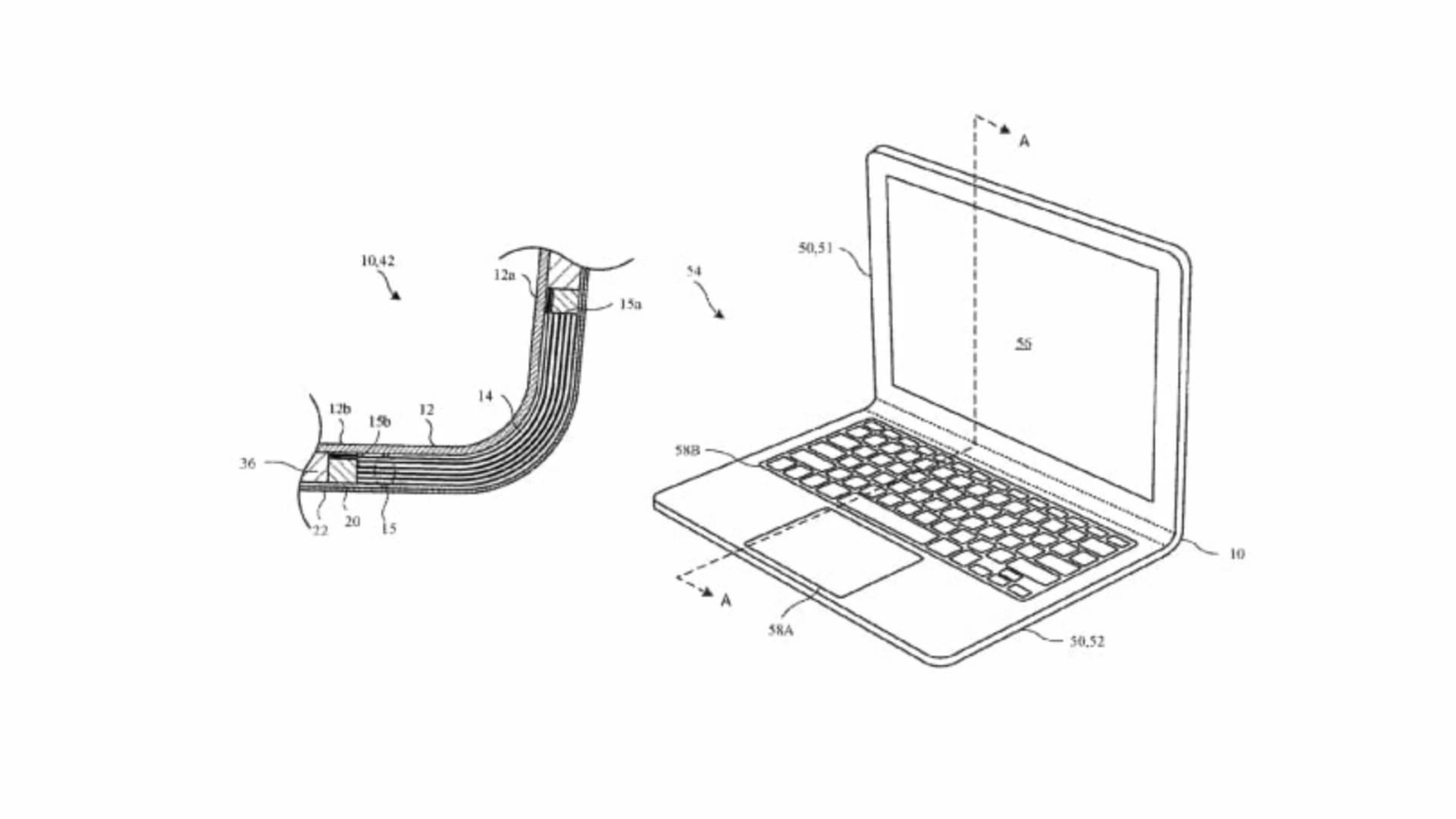 Hajlítható dizájnnal érkezhet a jövő MacBook-ja