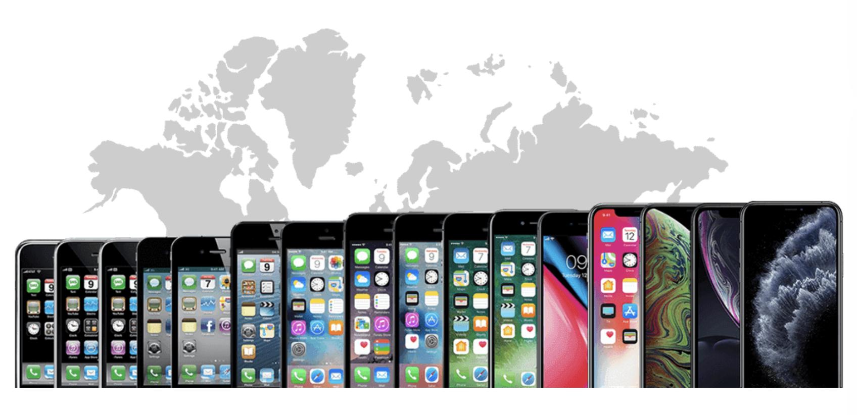 iPhone eladások a kezdetek óta, vajon melyik volt az eddigi legnépszerűbb iPhone modell? [szavazás]