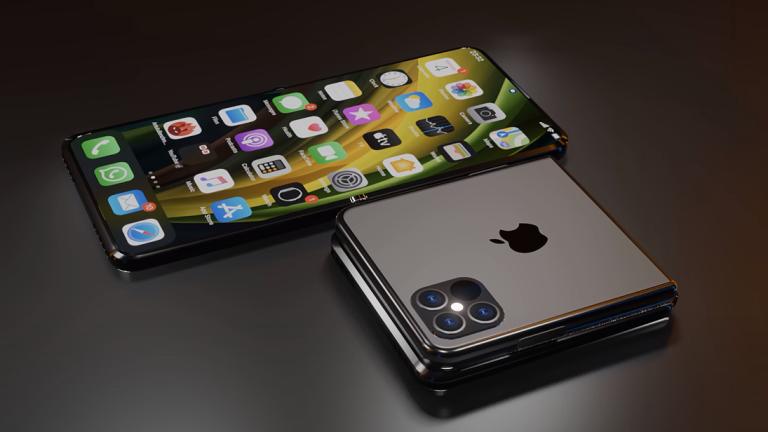 Így nézne ki egy hajlítható iPhone 12 [videó]