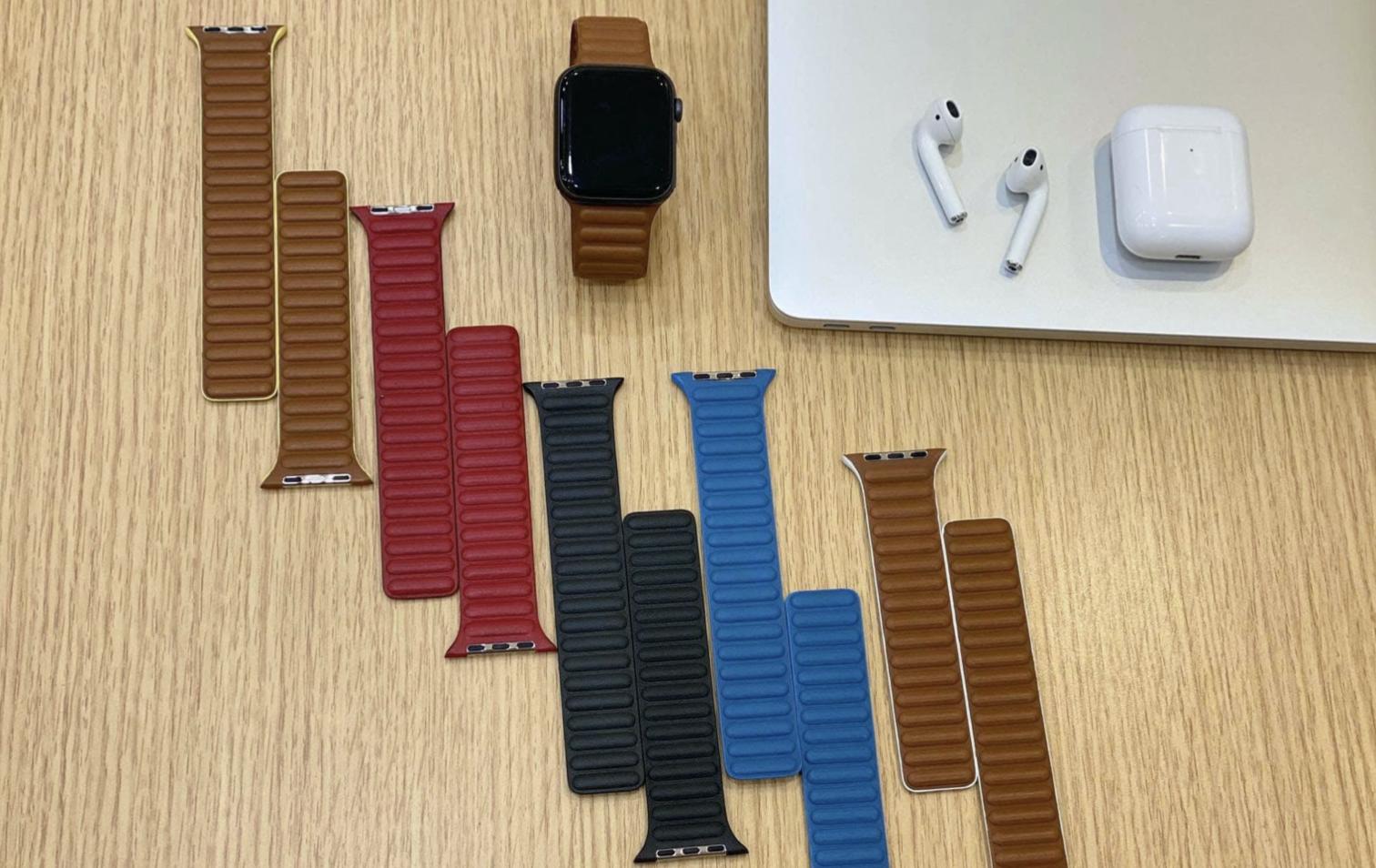Újratervezett bőrszíjak érkezhetnek az Apple Watch-hoz
