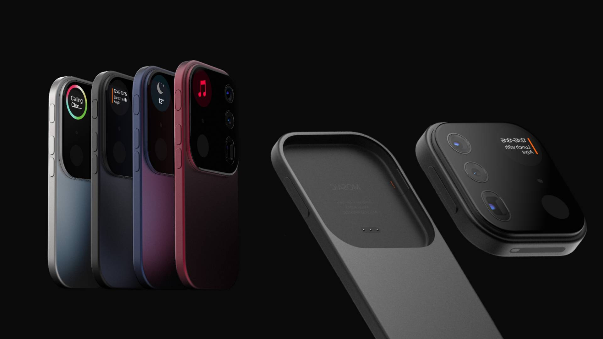 Őrületes iPhone koncepció, levehető kamerával