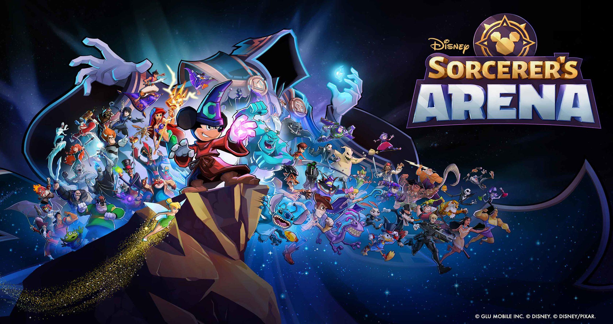 Disney Sorcerer's Arena・Tesztlabor