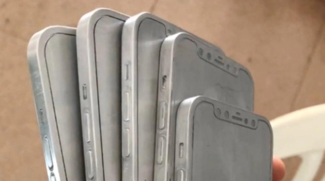 iPhone 12 öntőformák szivárogtak ki