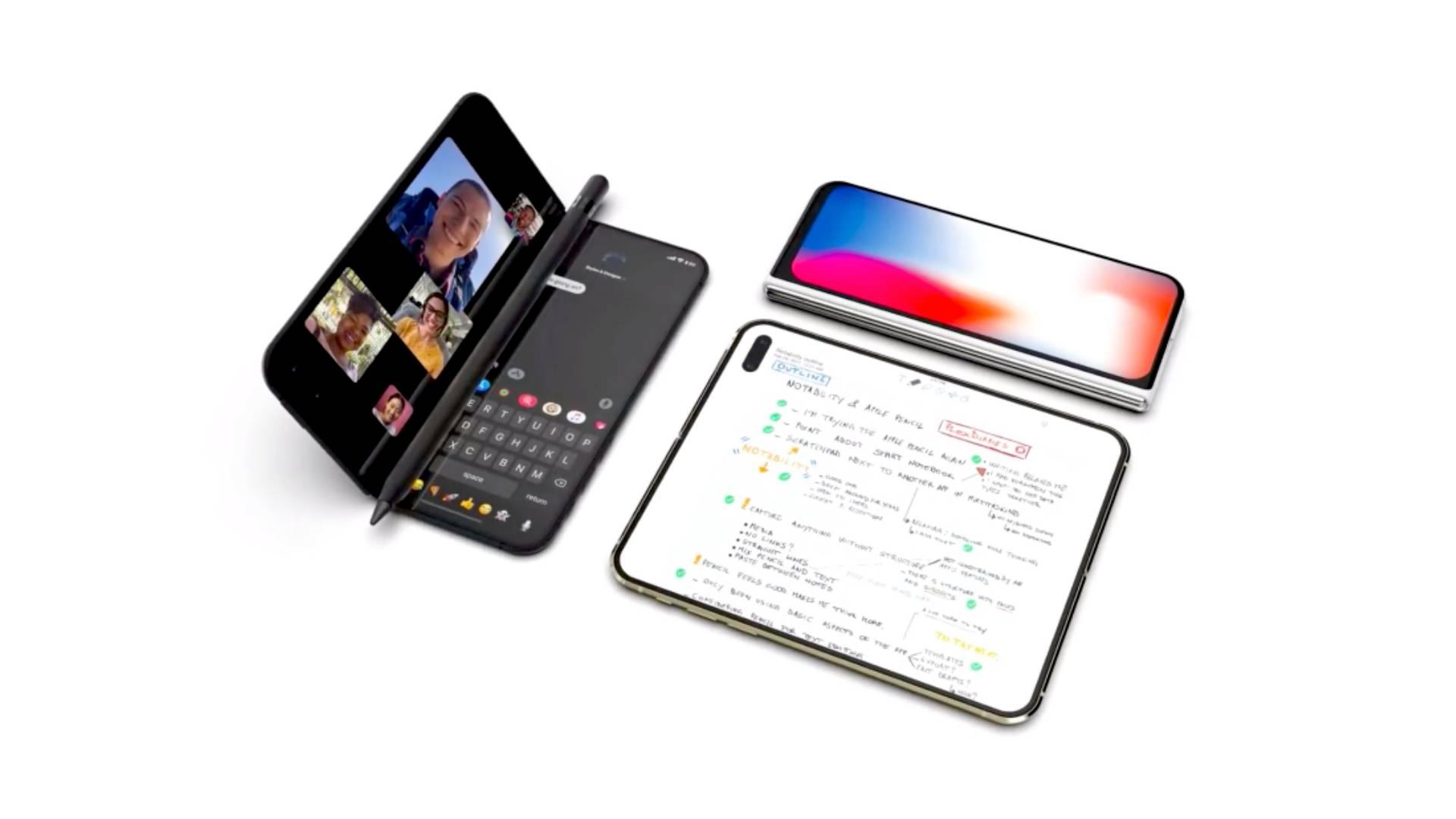 Újabb infók a hajlítható iPhone-ról