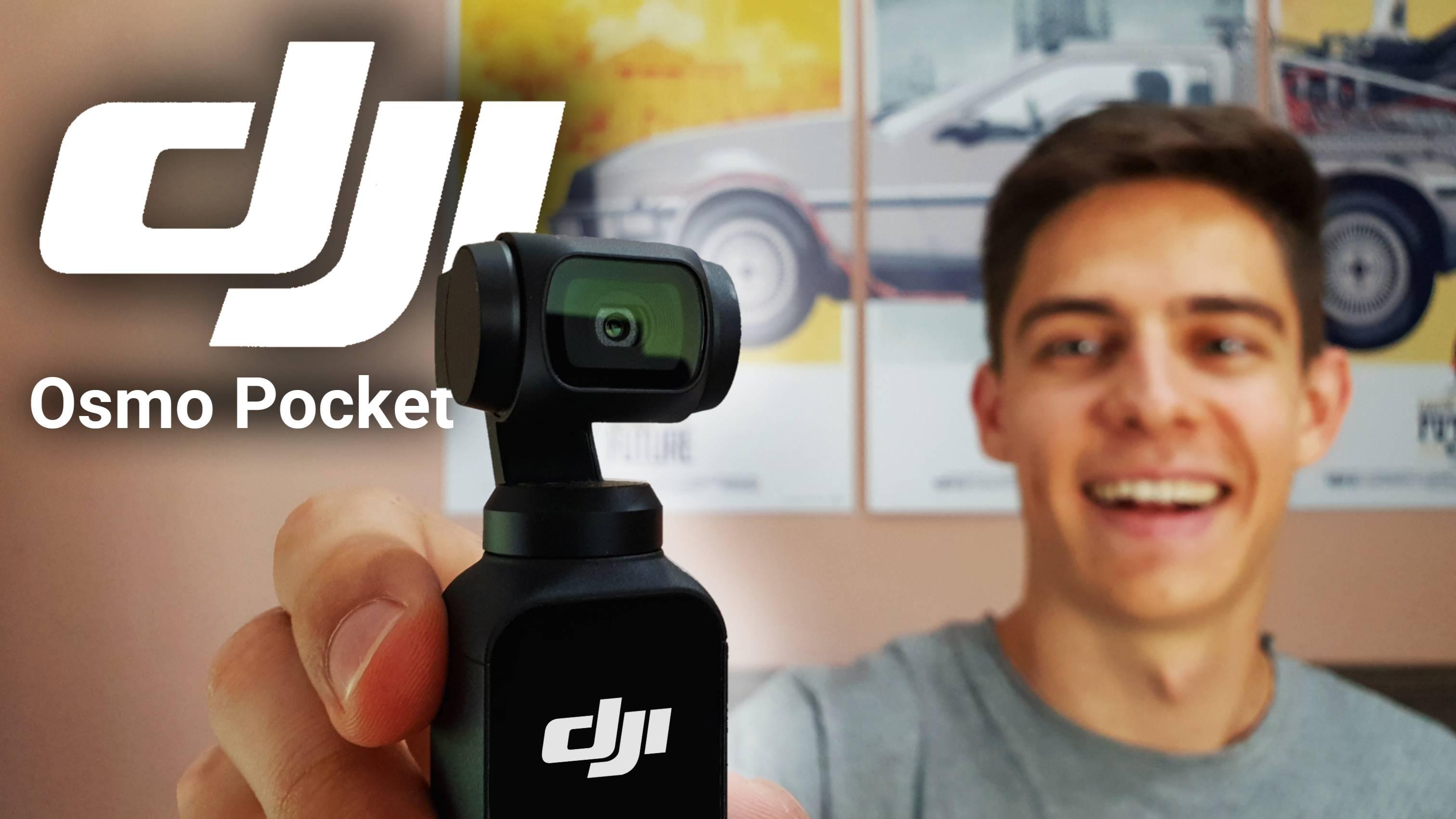 A legjobb akció vlogger kamera? - DJI Osmo Pocket