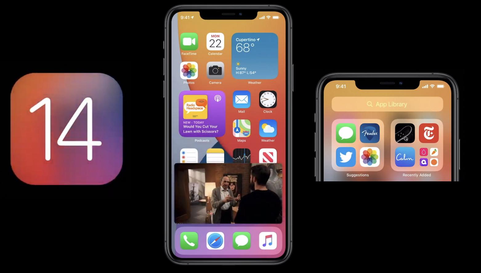 Megérkezett az iOS 14