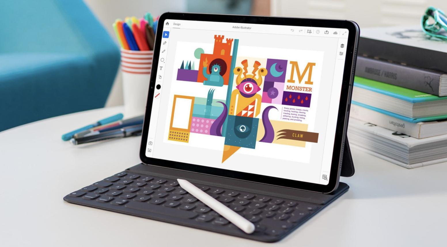 Az Illustratort már iPad-en is használhatjuk