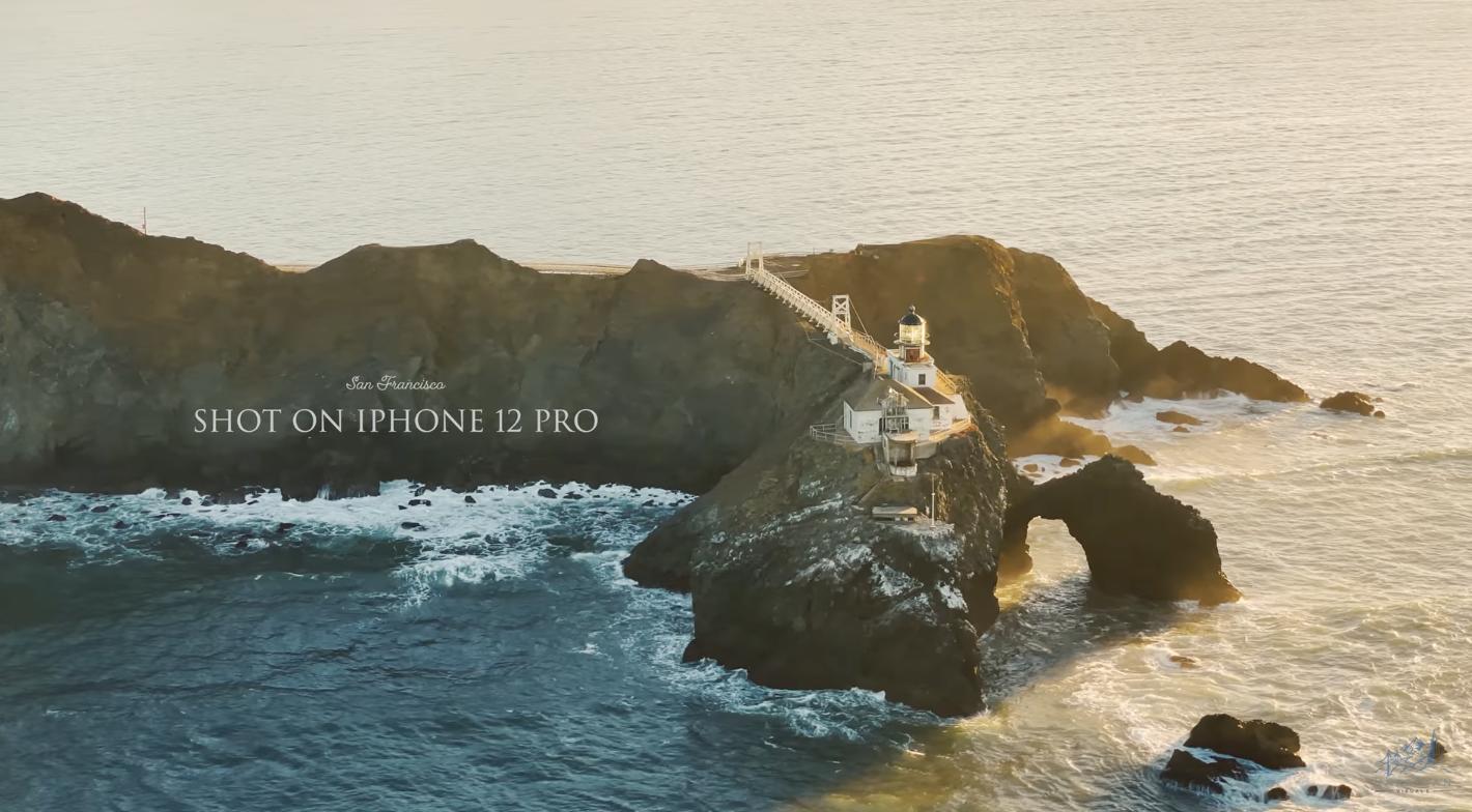iPhone 12 Pro 4K videók egy csokorban