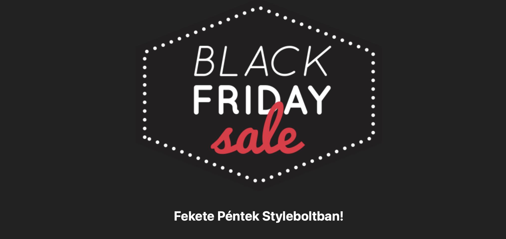 Apple Black Friday a StyleBolt-ban