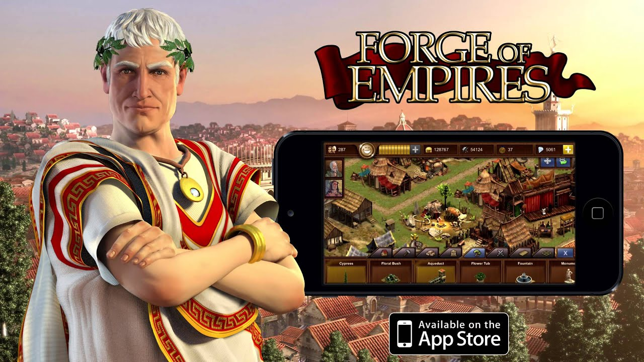 Forge of Empires・Tesztlabor