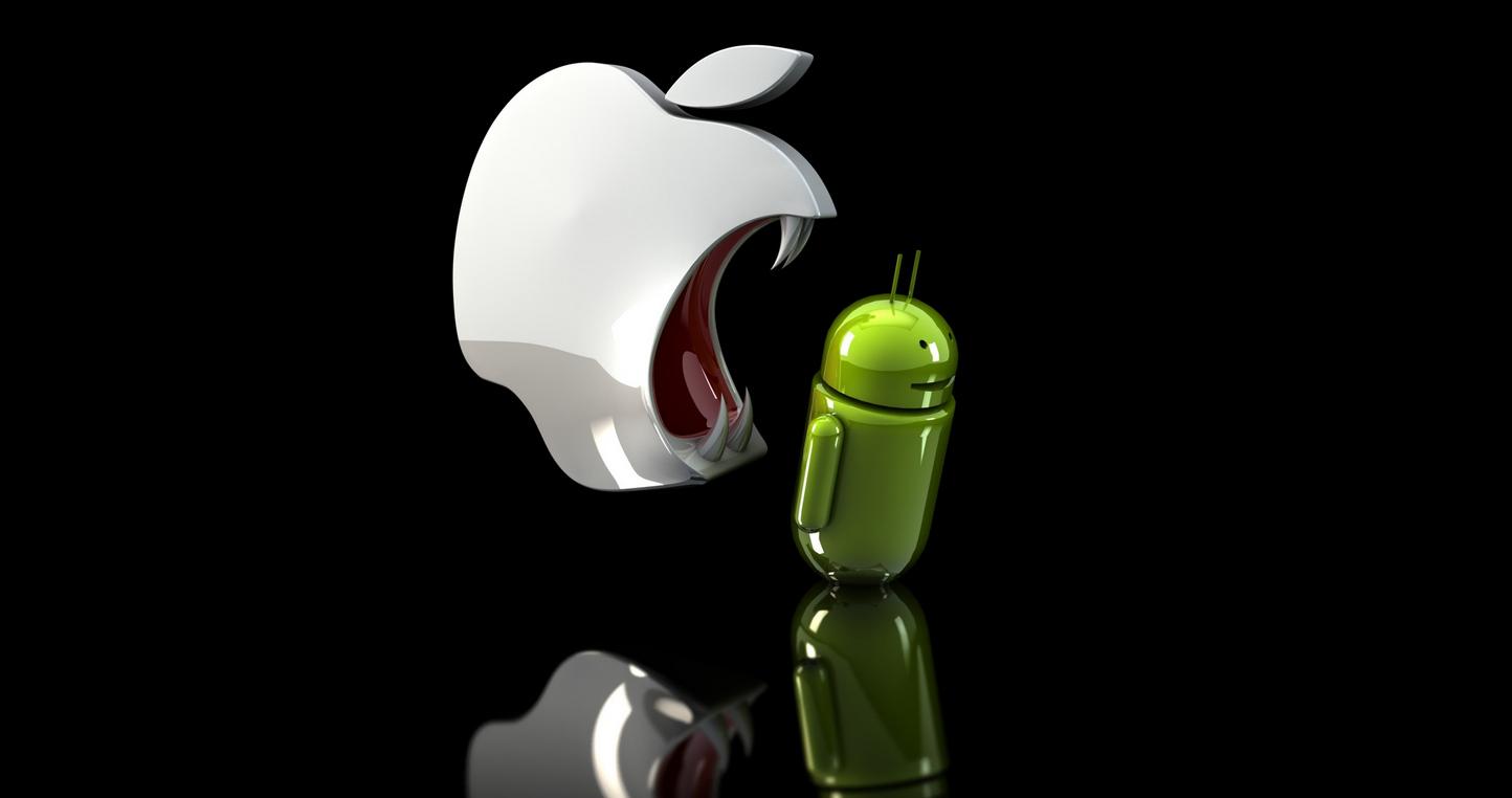 Amiben az Apple köröket ver az Androidra