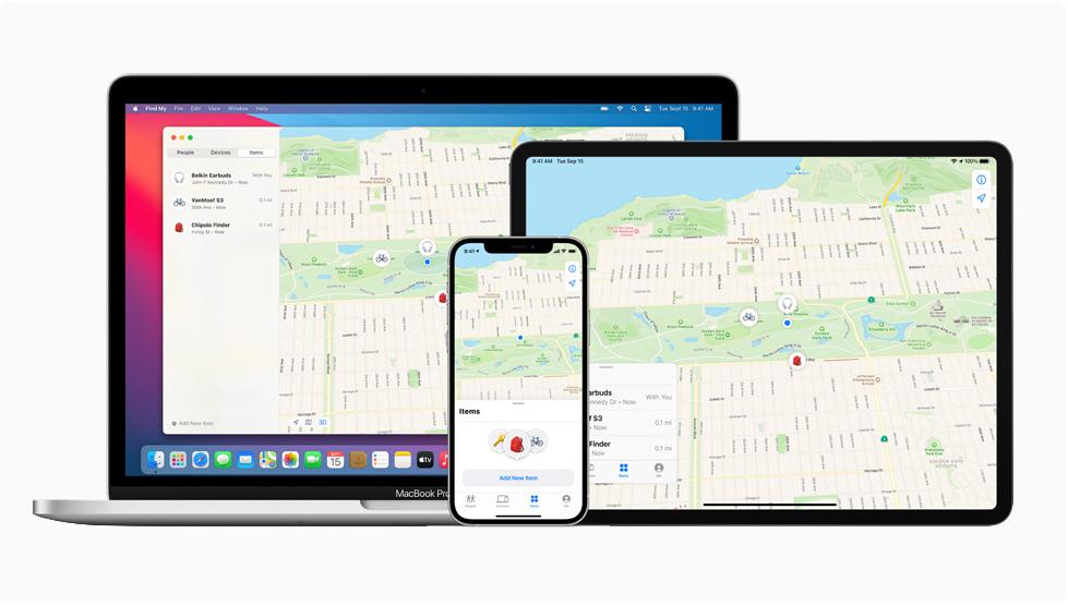 Új termékekkel bővült az Apple Lokátor-rendszere