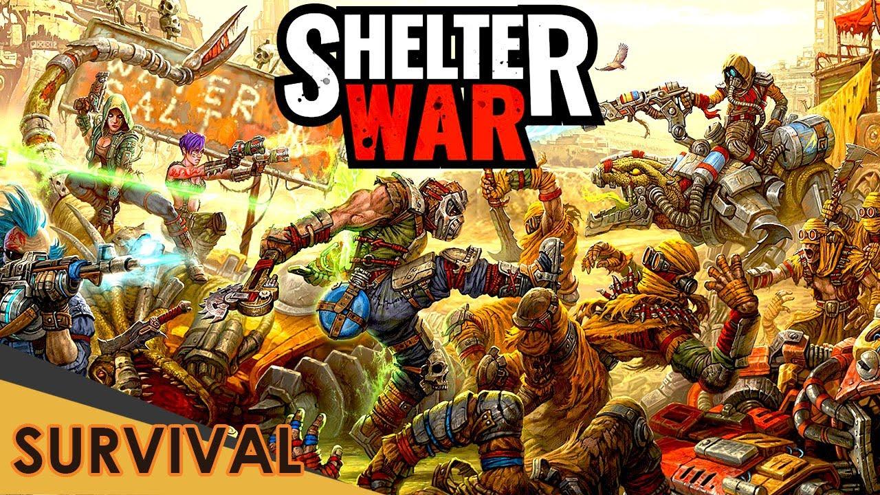Shelter War・Tesztlabor