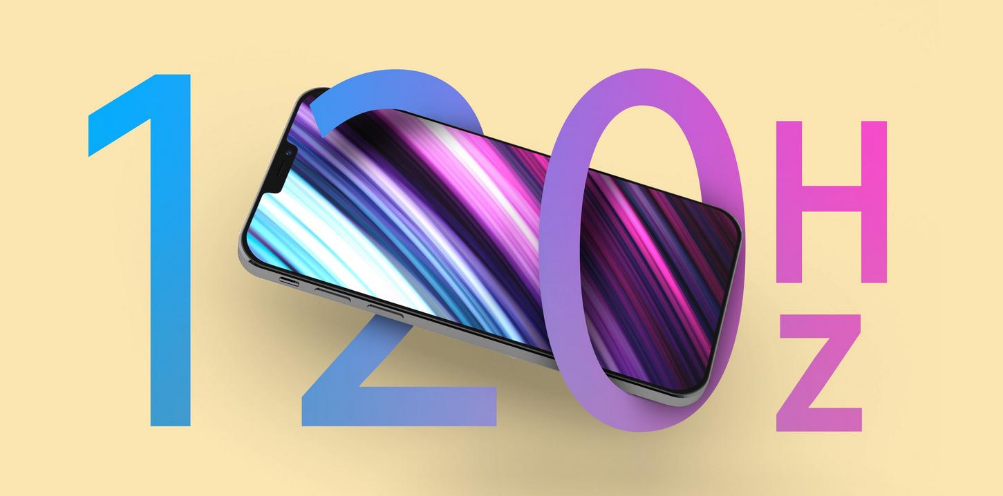 Tényleg jönnek a 120 Hz-es kijelzők az új iPhone-okba