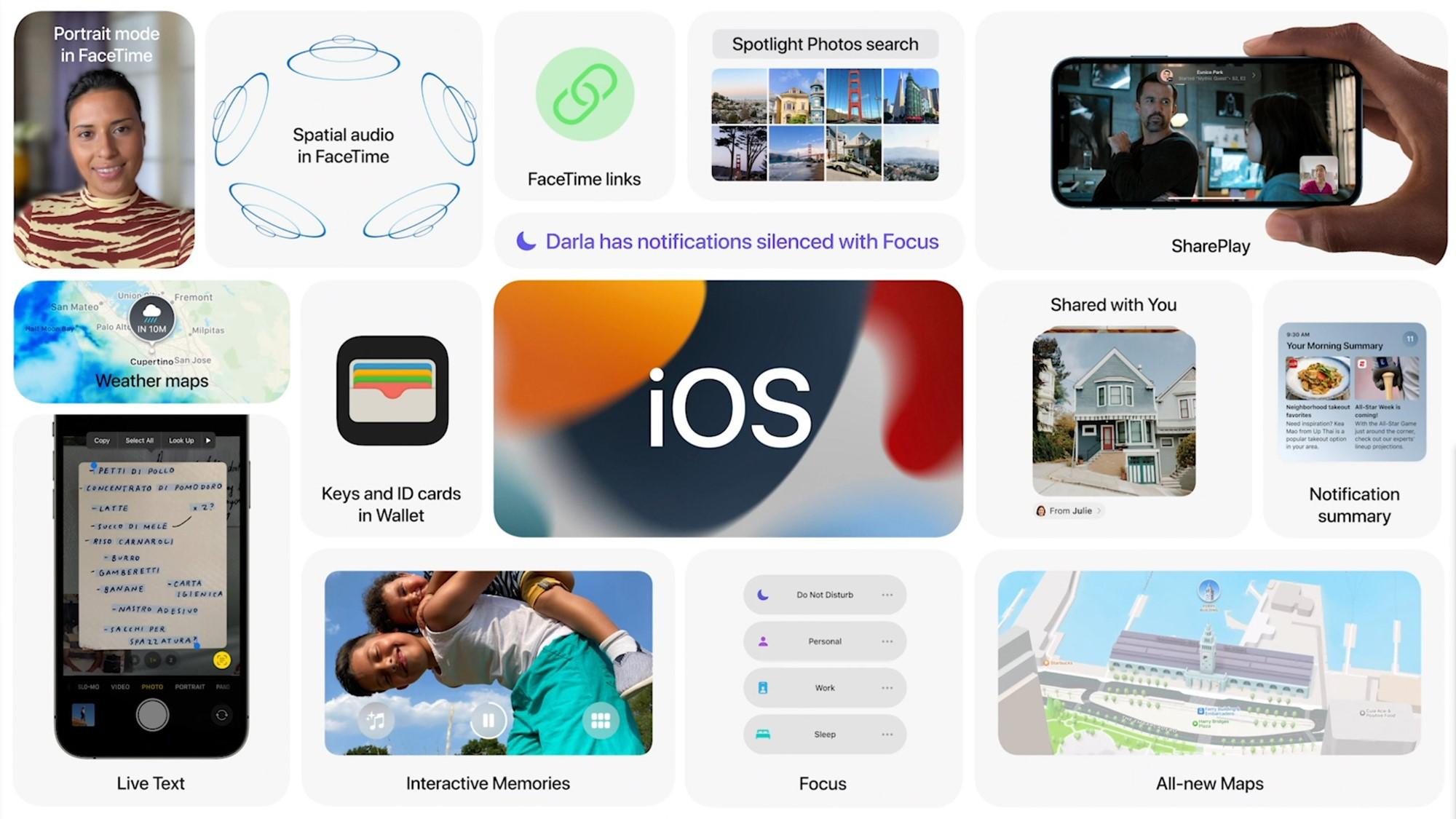 Bemutatkozott az iOS 15: ezek az újítások érkeznek az iPhone-ra