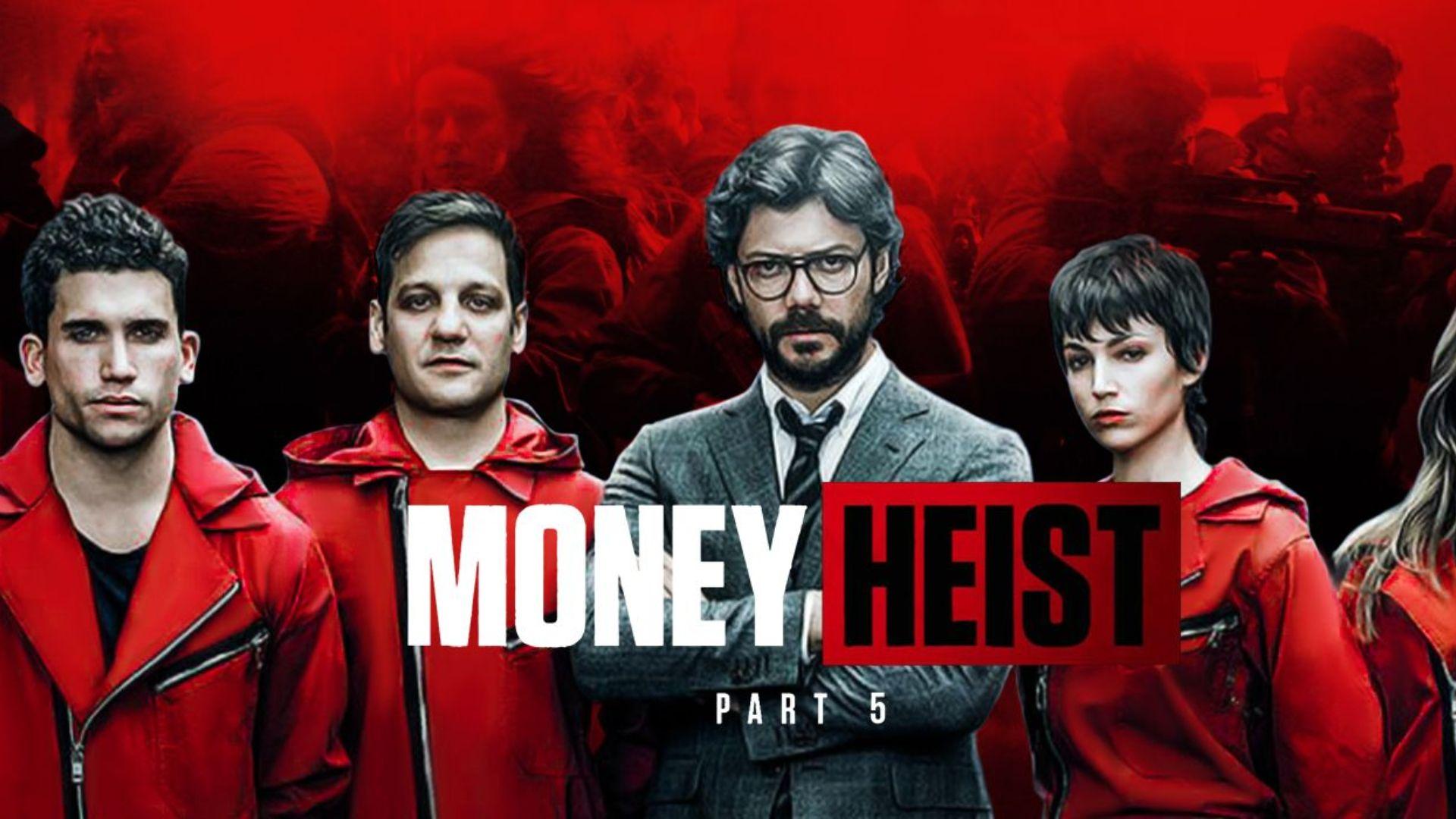 Money Heist・AppleTV (Netflix)