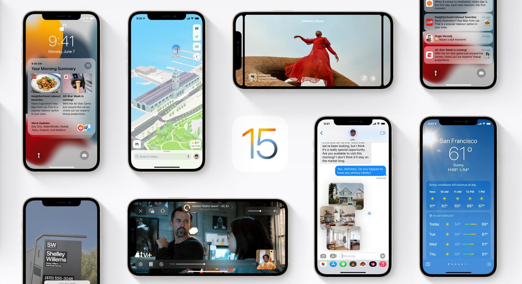 Megjelent a várva várt iOS 15 és iPadOS 15!