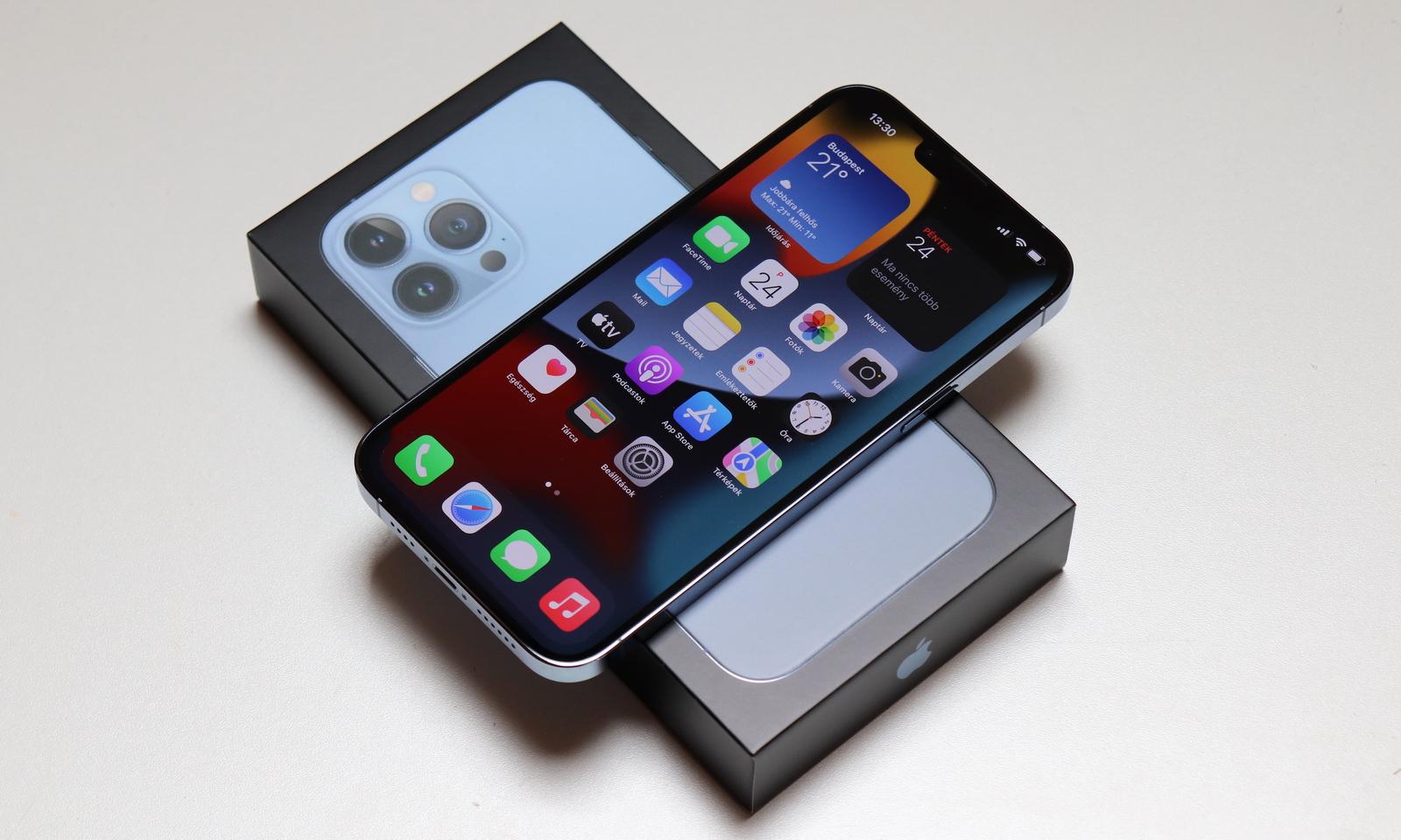 Még nagyobbat szól: iPhone 13 Pro Max teszt