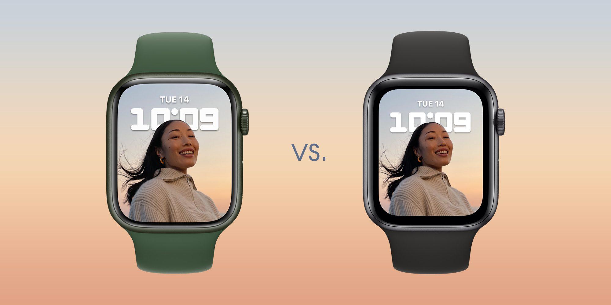 Apple Watch Series 7 vs Apple Watch Series 6 és korábbi modellek