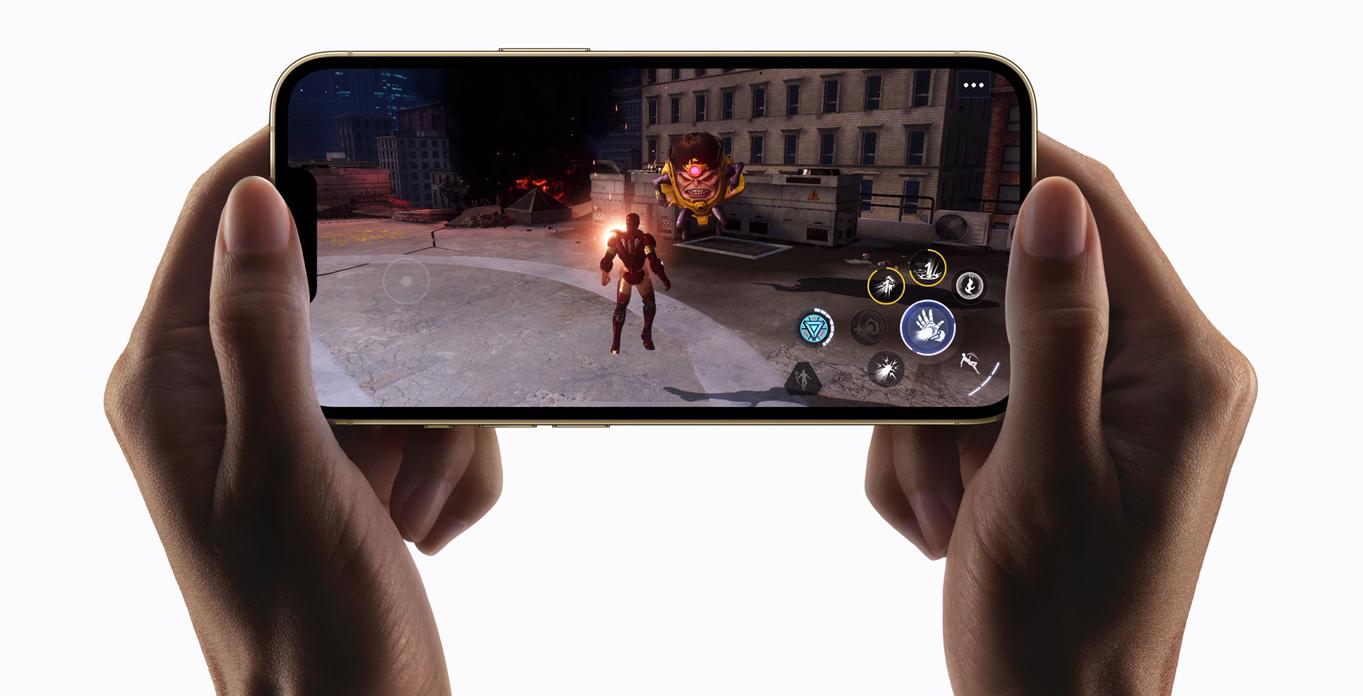Mindent ver az iPhone 13 Pro Max kijelzője