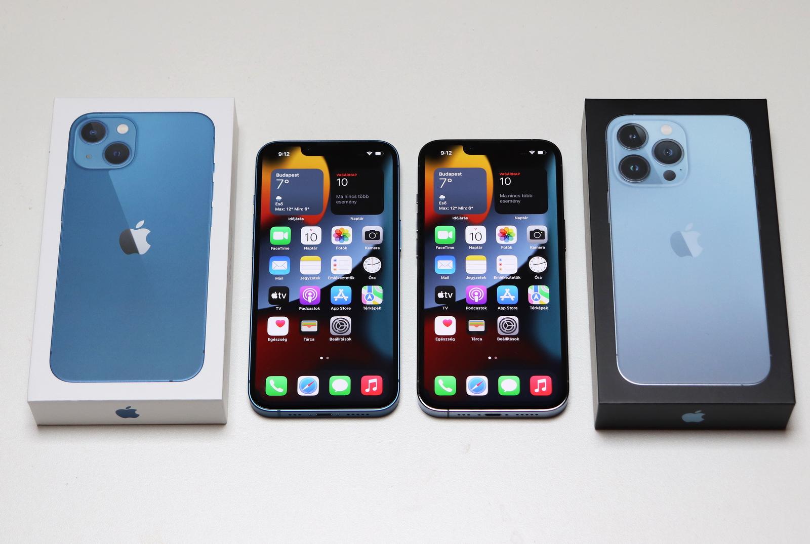 A céltábla közepe: iPhone 13 és 13 Pro teszt