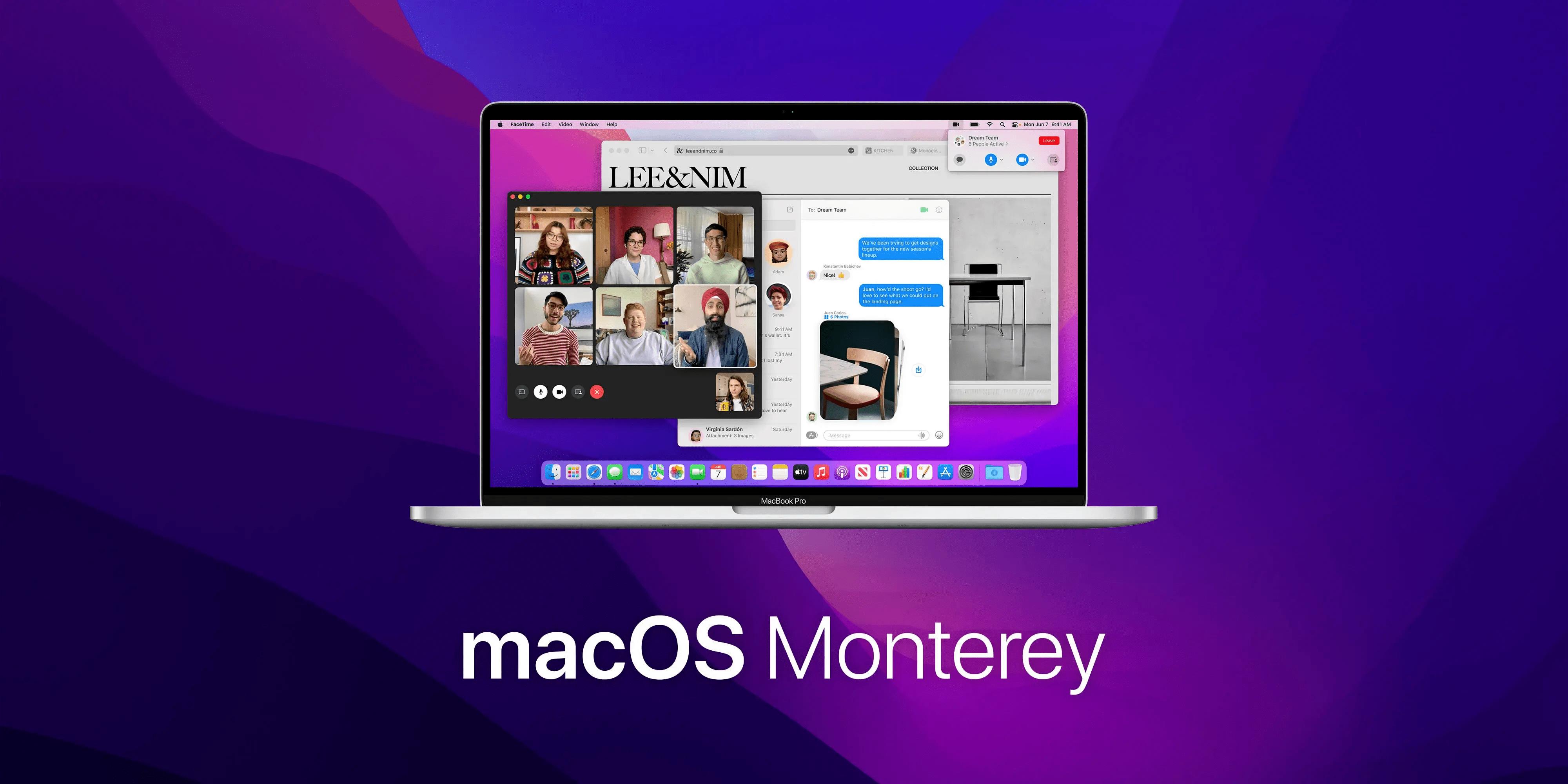 Október 25-én jelenik meg a macOS Monterey!